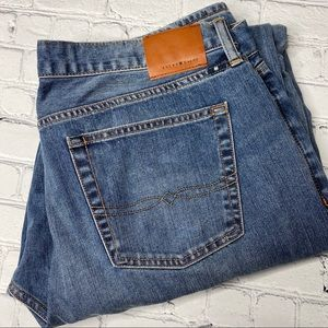 Lucky Brand 181 Relaxed Straight Jeans 40x36 Light